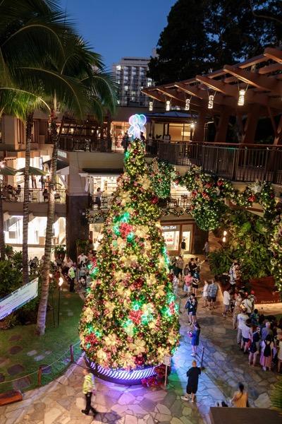 ロイヤルハワイアンセンター ハワイ クリスマス ROYAL HAWAIIAN CENTER HAWAII CHRISTMAS 4th_