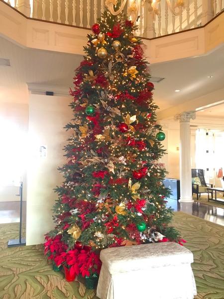 モアナサーフライダー ワイキキ ハワイ ホテル クリスマスツリー1th_