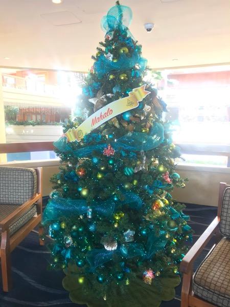 ハイアットリージェンシーハワイ クリスマスツリー5th_