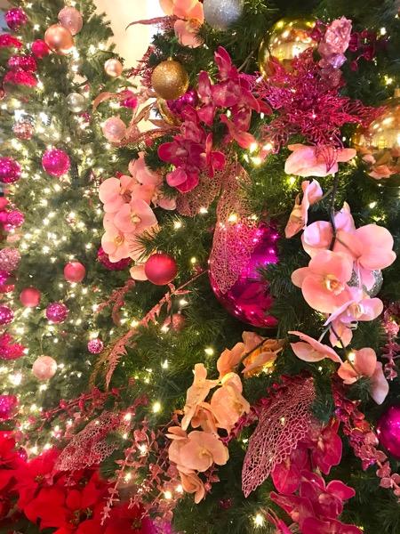 ロイヤルハワイアンホテル ハワイ ワイキキ クリスマスツリー3th_