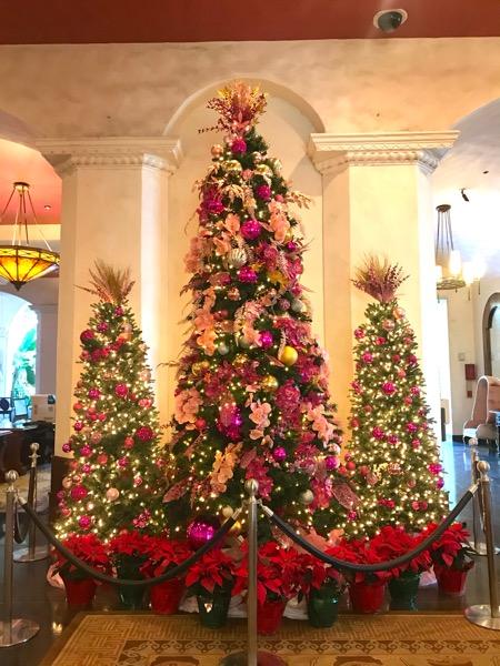 ロイヤルハワイアンホテル ハワイ ワイキキ クリスマスツリー2th_