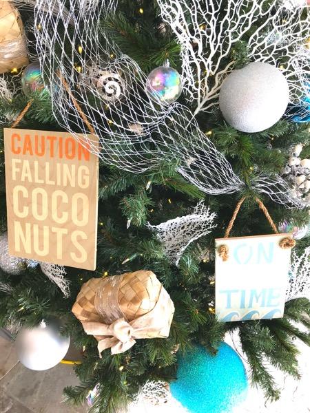 マリオットワイキキビーチホテル ハワイ ワイキキ クリスマスツリー2th_