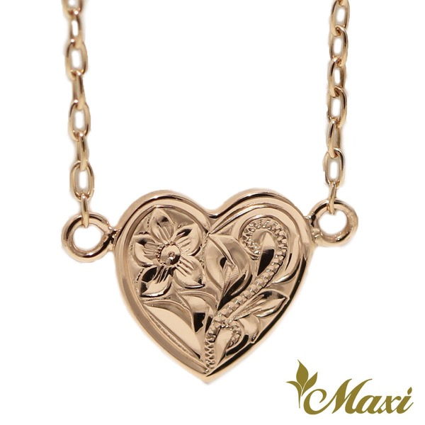 Heart-Necklace-Pink-Goldth_