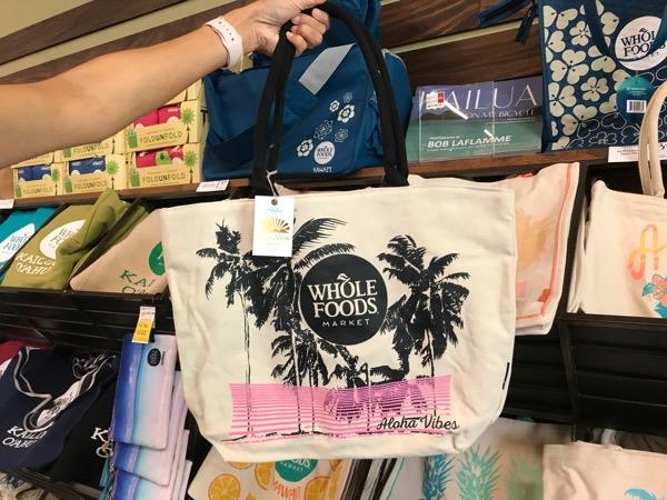 wholefoods tote bag hawaii kailua6th_