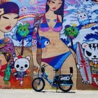 カカアコまでもペデゴの電動自転車でサクサク